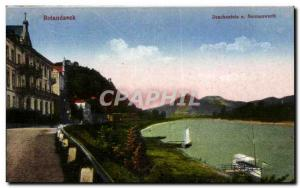 Postcard Old Rolanseck Drachenfels u Nonneworth