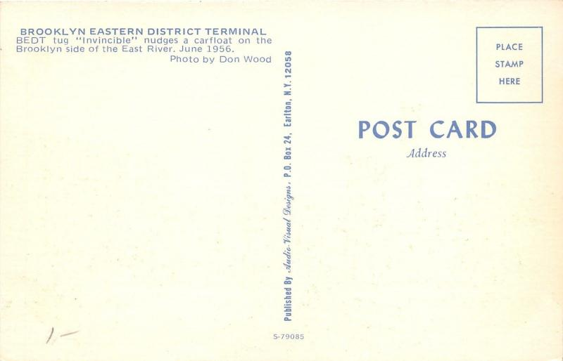 Brooklyn New York~Eastern District Terminal~BEDT Tug
