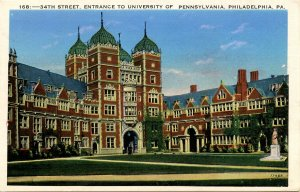 PA - Philadelphia. University of Pennsylvania, 34th Street Entrance