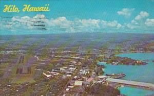 Hawaii Hilo Aerial View 1969