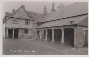 Totnes Guild Hall Devon Vintage RPC Real Photo Postcard