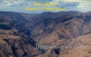 Satan's Throne - Hells Canyon Gorge, Idaho ID