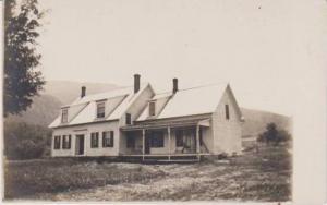 RP: Homestead, White Farmhouse w/ Porch Swing 1914-1917