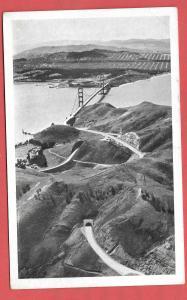Airplane View of The Golden Gate Bridge, San Fracisco, California #111 - 1937