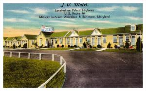 Maryland  Between Baltimore and Aberdeen , J.V. Motel