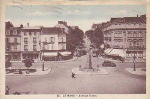 France Le Mans Avenue Thiers 1935