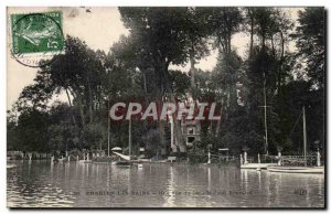 Old Postcard Enghien Les Bains A view of Lake House Boucelin