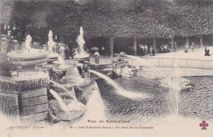Les Grandes Euax- Un Cote De La Cascade, Parc De Saint-Cloud (Hauts De Seine)...