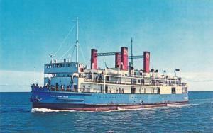 S. S. Prince Edward Island, Powerful Ice Breaker Ferry, Canada, 1940-1960s