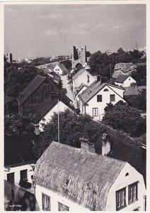 RP, Bird's Eye View Of VISBY, Gotland County, Sweden, 1930-1950s