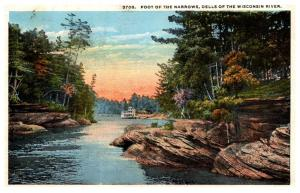 Wisconsin  Dells , Foot of the Narrows