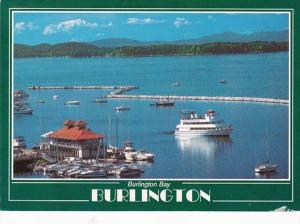 Vermont Burlington Spirit Of Ethan Allen II Lake CHamplain Scenic Shoreline C...