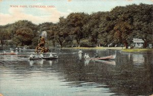 LPS35 CLEVELAND Ohio Wade Park Lake Postcard