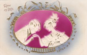 Romance Couple , To Greet my Love , 00-10s; Embossed