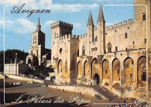 France Avignon le Palais des Papes, Cathedrale Notre Dame des Doms