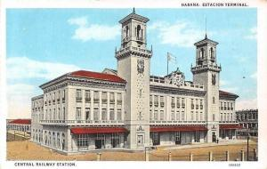 Cuba Havana Habana: Estacion Terminal, Central Railway Station