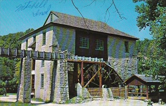 Indiana Mitchell Historic Hamers Mill Built 1817 Spring Mill State Park