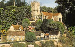 The Isle of Wight Model of Godshill Church in the Old Smithy Garden