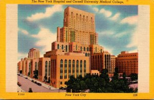 New York City The New York Hospital and Cornell University Medical College
