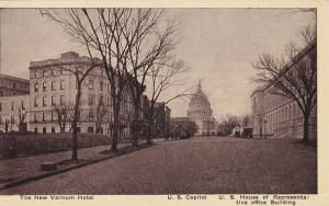 The New Varnum Hotel, U. S. Capitol, U. S. House Of Representative Office Bui...