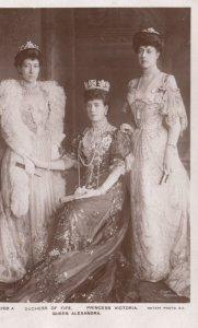 RP: UK Royal Family , 00-10s ; Queen Alexandra, Duchess Of Fife & Princess Vi...