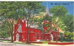 St Mary´s Church, 338 West Washington Street, Greenville, South Carolina, 19...