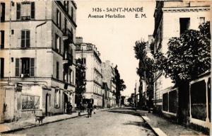 CPA Saint-Mande - Avenue Herbillon (390291)