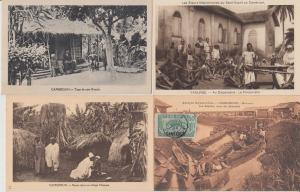 CAMEROON CAMEROUN ETHNIC TYPES AFRICA AFRIQUE 29 CPA (pre-1940)