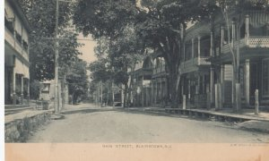 BLAIRSTOWN , New Jersey , 1901-07 ; Main Street