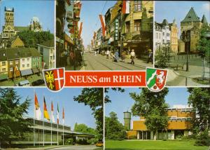 Neuss am Rhein germany Deutschland multi view emblem blasson coat of arms