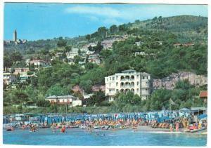Italy, Hotel Trieste, Marina di Andora, Riviera dei Fiori, unused Postcard