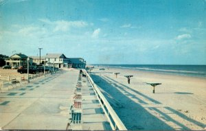 Florida New Smyrna Beach Looking North 1958