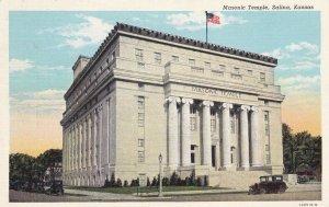 SALINA , Kansas , PU-1942; Masonic Temple