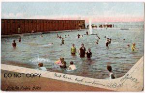 Public Bath, Erie PA