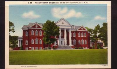 Virginia PC Lutheran Children's Home of the South, Salem unused
