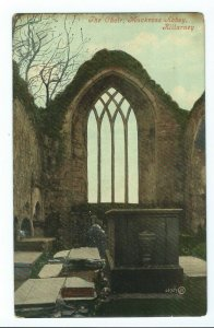 Postcard The Choir Muckross Abbey Killarney Ireland Unposted VPC7.