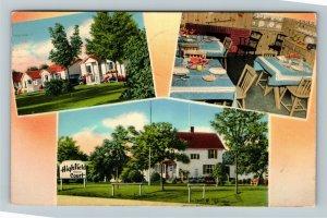 Winsloe, Prince Edward Island, Highfield Court, Advertising,Chrome c1956Postcard