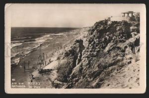 117209 Israel NATHANYA Vintage photo postcard