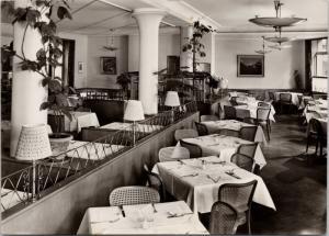 A. Hiltl Vegetarisches Restaurant Zurich Switzerland Vintage RPPC Postcard D56