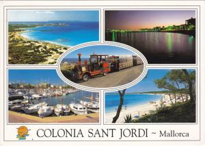 MALLORCA, Islas Baleares, Spain, 1950-1970's; Multiple Views, Colonia San Jordi