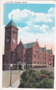 BANGOR, Maine, 1900-1910's; City Hall