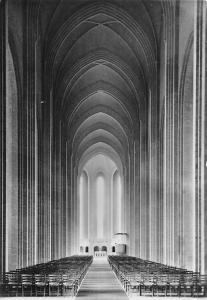 Denmark Grundtvig's Church Copenhagen The Nave