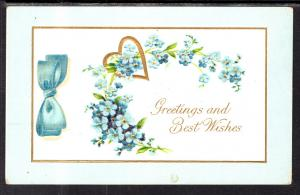Greetings and Best Wishes Flowers BIN