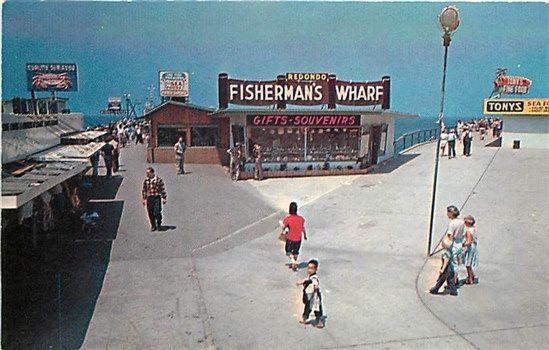 Ca Redondo Beach California Fisherman S Wharf