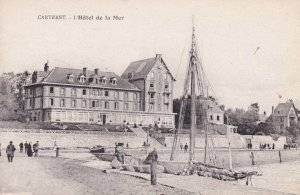 Cartaret L'Hotel De La Mer Antique French Postcard