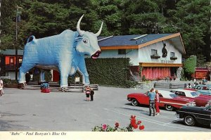 Paul Bunyan's blue ox at the trees of mystery Oddities Unused