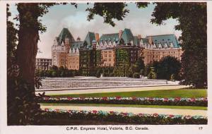 RP; Hand-Colored, C.P.R. Empress Hotel, Victoria, British Columbia, Canada, 1...