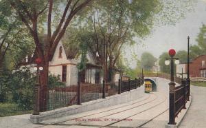 ST PAUL , Minnesota, 1900-10s; Selby Tunnel, Streetcar