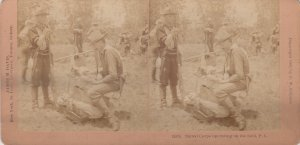 SV: Signal Corps operating on the Field , Philippines , 1899