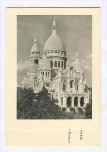 2 Views Bi-Fold, Les Invalides, Le Sacre-Coeur, Paris, France, 1910-1930s